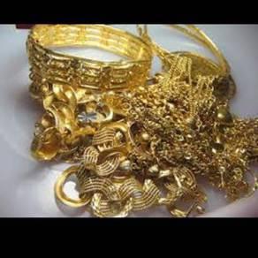 Membeli emas terpakai/rosak/patah/surat pajak