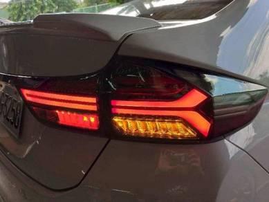 Honda city 14-19 led taillamp tail lamp light 1