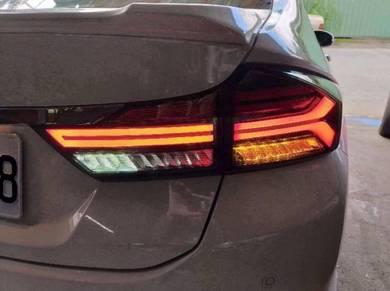 Honda city 14-19 led taillamp tail lamp light 2