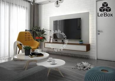 6F Wall Lighting Tv Cabinet