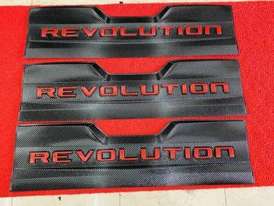 Toyota hilux revo rocco tailgate protector cover 2