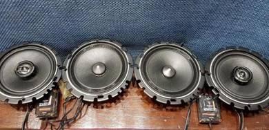 Carrozzeria black siries mid bass 6inci speaker