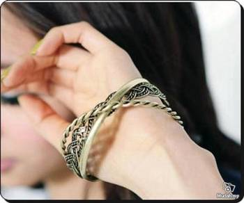 ABBGM-B002 Golden Metal Fashion Style Bracelet
