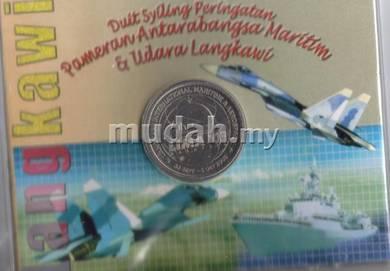 Commemorative coin card set LIMA 2019H