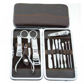12pcs Stainless Steel Nail Pedicure Manicure Kit