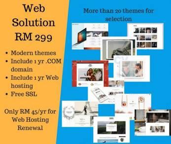ALL-IN-ONE Web Design Solution