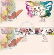 First Day Cover Butterflies Pair Msia 2008 (Ipoh)