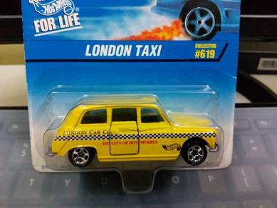 1997 Hotwheels London Taxi