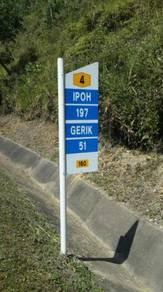 Kilometre post Type A JKR
