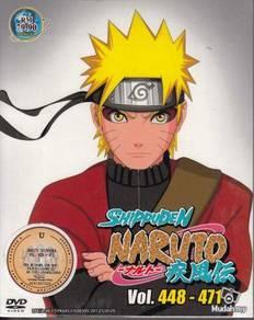 DVD ANIME NARUTO SHIPPUDEN Vol.448-471 Box Set