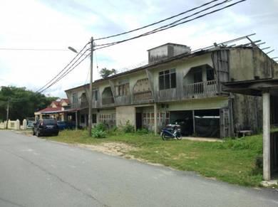 Tanah dan Rumah kedai Mengabang Telipot, K.Nerus