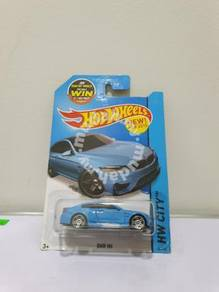 Hot Wheels BMW M4 Blue