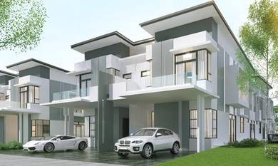 Old klang road new double storey house 22x75