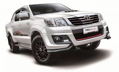 Toyota hilux 2015 bodykit with paint MAX 1