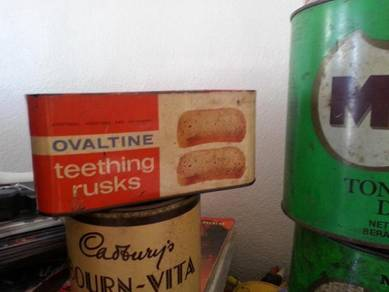 Antik Tin Roti Ovaltine Teething Rusks