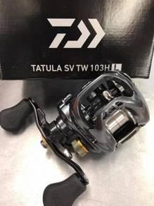 NEW- DAIWA TATULA SV TW 103HL Fishing Casting Reel