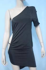 CW136 Sexy Fashion Rhinestone Clubwear Mini Dress