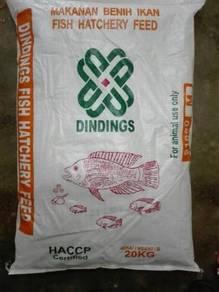 Dindings 910M Fish Hatchery Feed 20kg
