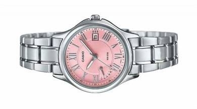 Casio Ladies Day Date Dress Watch LTP-E116D-4AVDF