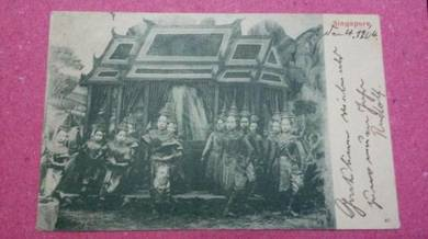 Antik Postcard PC Malaya Germany 1904 No 357