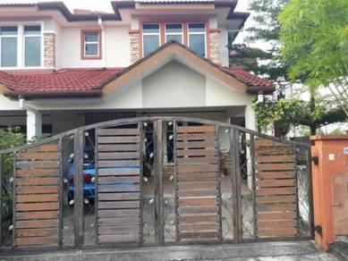 1K Deposit Full Loan Double Storey End Lot With Land Pelangi Semenyih