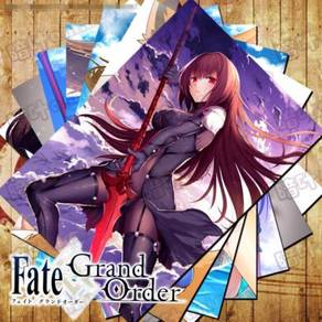 Anime Fate grand order Saber A3 wall poster