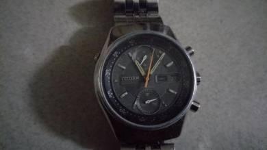 Vintage citizen chronograph automatic watch
