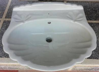 [Jualan Hebat] Claytan WB144 Shell Wash Basin