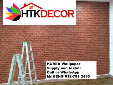 Install Wall Paper in your office 224BA