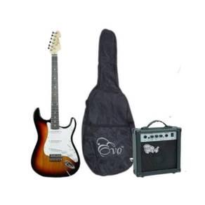 Evo X1, Electric Guitar Pack, Sunburst