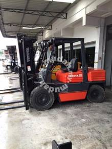 Japan Direct Import 5FD35 3.5 Ton TOYOTA Forklift