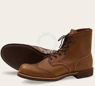 Work Boot Red Wing Men 6In Brogue Ranger Brwn 8128
