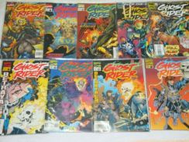 GHOST RIDER. 1990 series. issue 58-80. 1-set