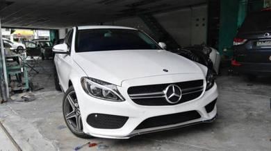 Mercedes benz W205 AMG C class AMG LINE Bodykit