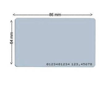 RFID Access Card 0.76mm 1pcs