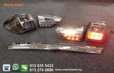 Toyota Wish LED Tail Lamp With Garnish