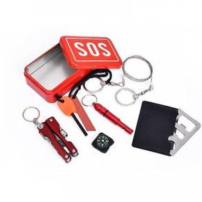 6 in 1 sos survival kit / camping box 11