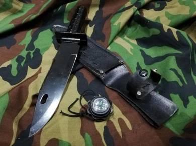 Pisau Army knife Combat Komando Comando Commando