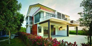 New Freehold 22x65 Double Story Rumah Teres 0 Down Payment nr Kajang
