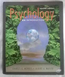 Psychology an Introduction 12 edition
