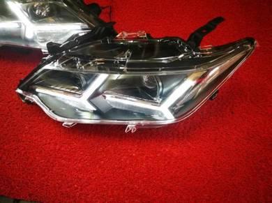 Toyota camry acv51 led headlamp head lamp light 4