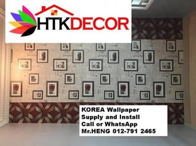 PVC Vinyl Wall Paper for various environment 264TU
