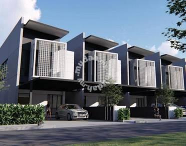 'HOLMESTOWN' Double Storey terrace at Muara Tuang, Kuching