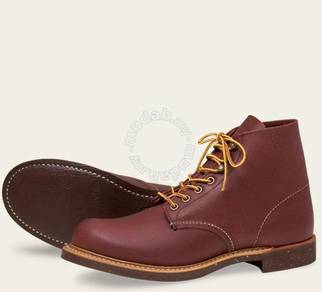 Work Boot Red Wing Men 6In BlackSmith Brown 8016