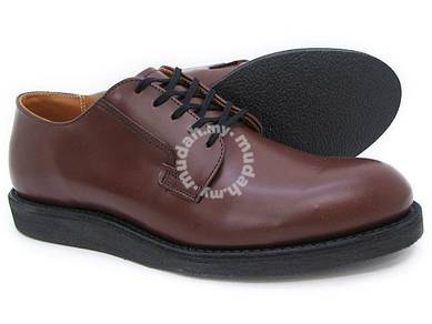 Work Shoes Red Wing Men Oxford Postman Chocol 9101