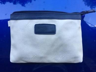 B0153 Cream White Fashion Hand Carry Clutch Bag