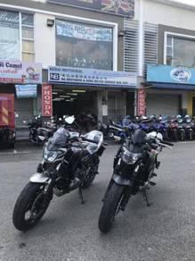 Kawasaki Z650 z 650 free exhaust Muka Rendah Offer