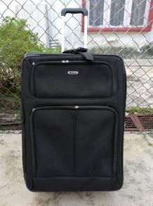 Delsey Luggage Bag XLarge Expandable Black Beg
