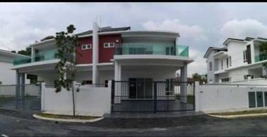 5 min access Palm Mall 2 Sty Semi D Taman Permai Seremban S2 Heights