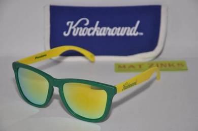 Classic Premium Sunglasses, Green and Yellow